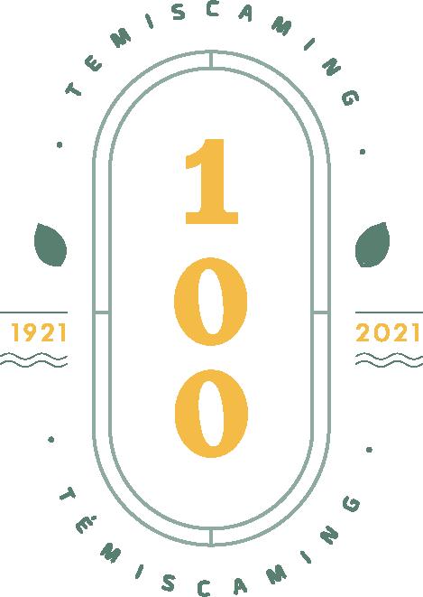 Témiscaming - 100e anniversaire - logo